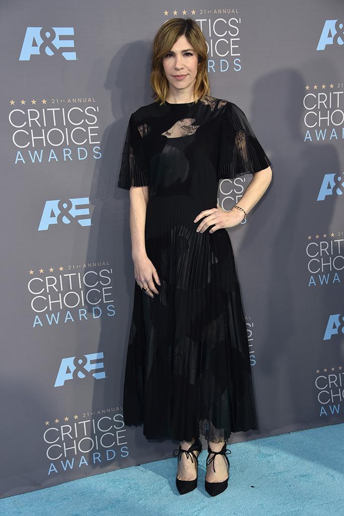 Carrie Brownstein Critics' Choice Awards 2016 Red Carpet