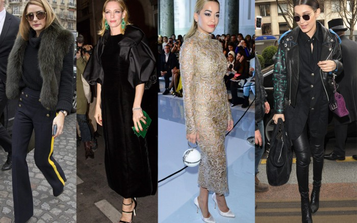 Celebrity Style Paris Couture Week
