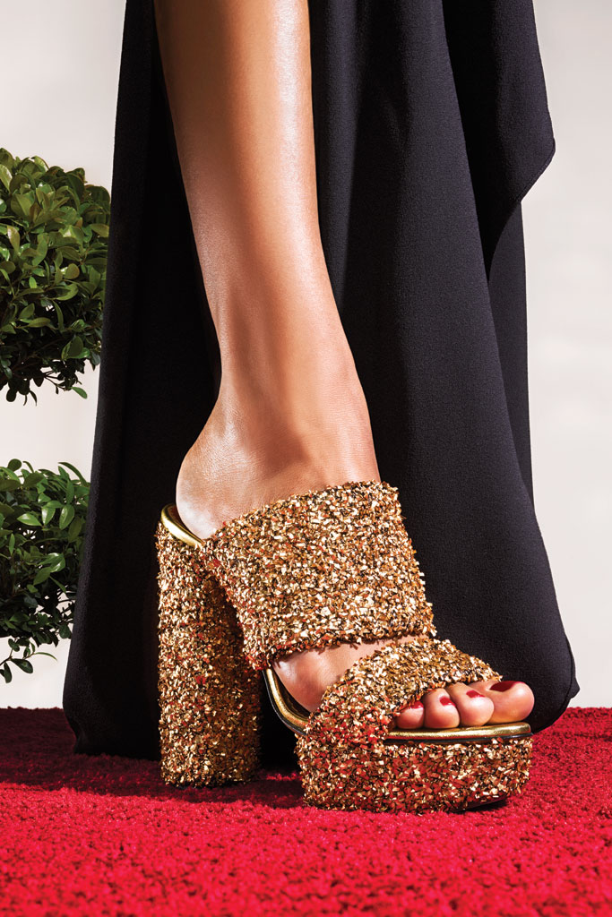 Charlotte Olympia Tinsel Heels