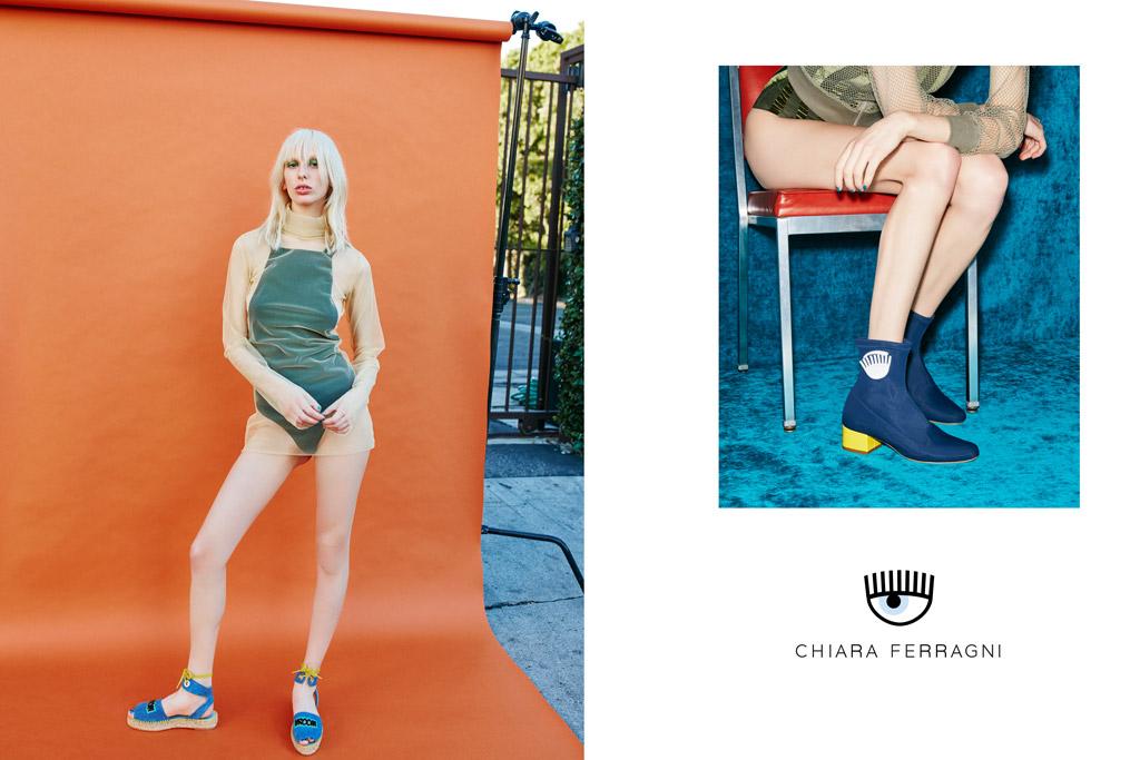 Chiara Ferragni Shoes Spring 2016 Ad Campaign