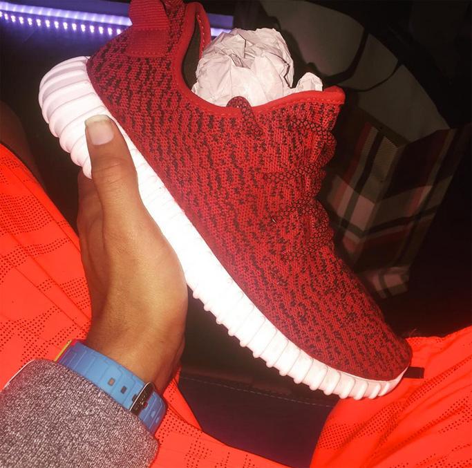Custom Yeezy Boost Sneakers Chris Brown