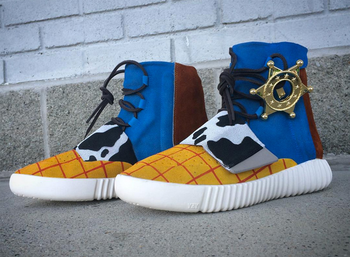 Custom Yeezy Sneakers