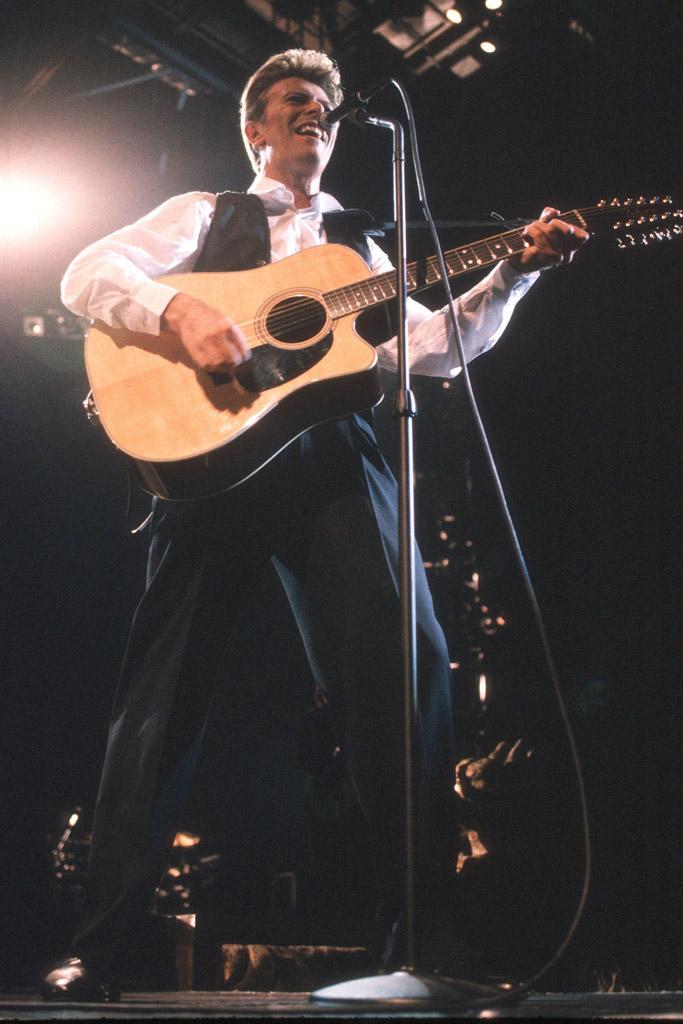 David Bowie Celebrity Shoe Style