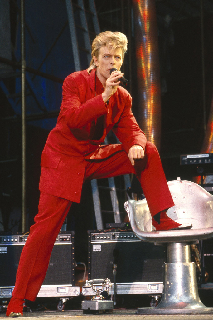 David Bowie Celebrity Shoe Style