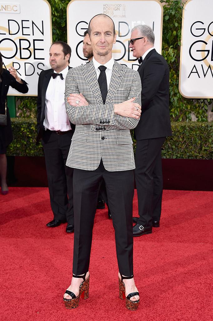 Denis O'Hare Golden Globes Red Carpet 2016