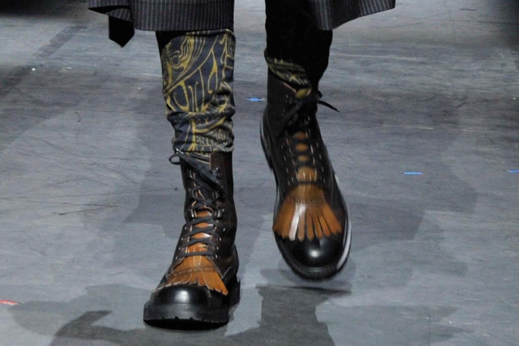 Dries Van Noten Men's Fashion Week Fall 2016 Shoes