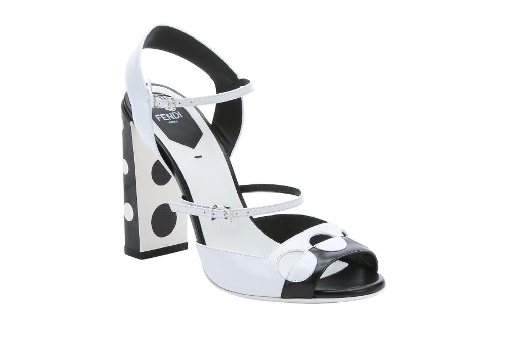 Fendi Polka Dot Sandals