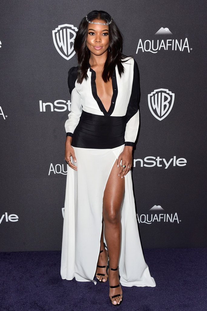 Gabrielle Union Golden Globes After Party 2016