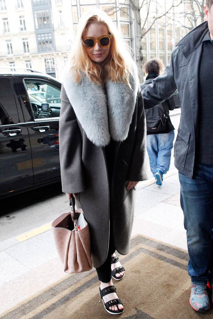 Iggy Azalea Paris Couture Week Shoes