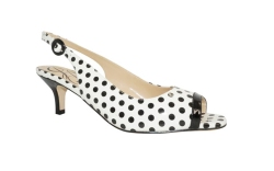 Women's Polka Dot Shoes