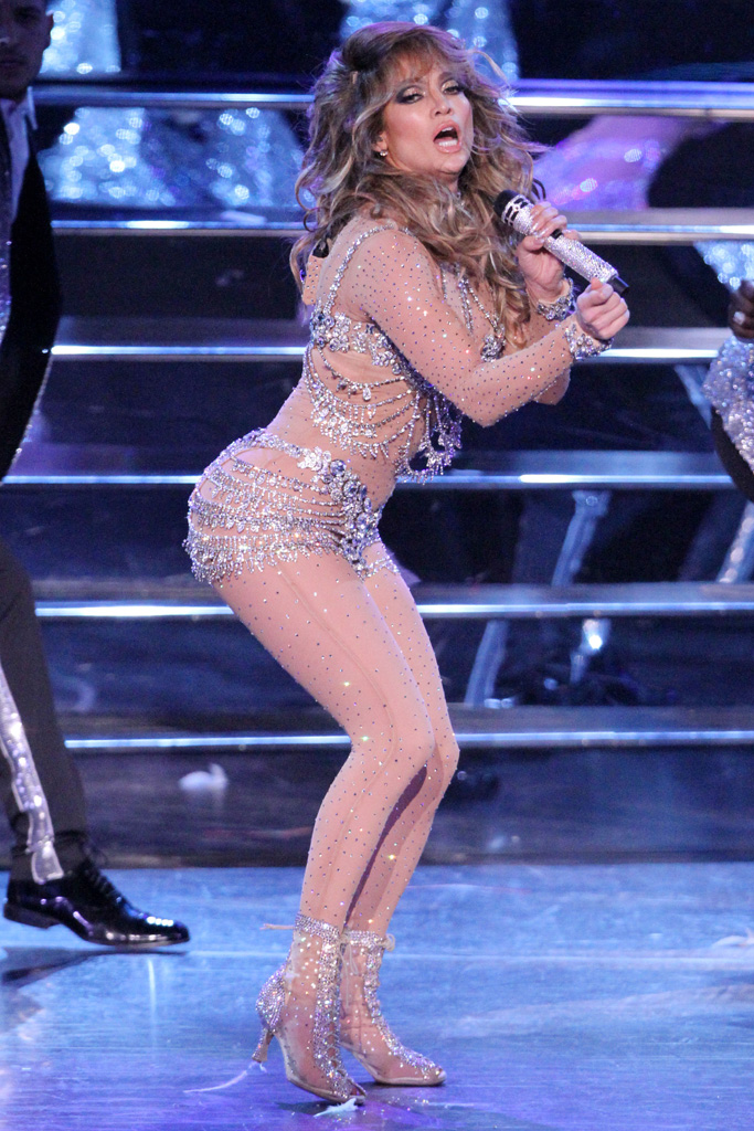 Jennifer Lopez Las Vegas Planet Hollywood Residency Shoes