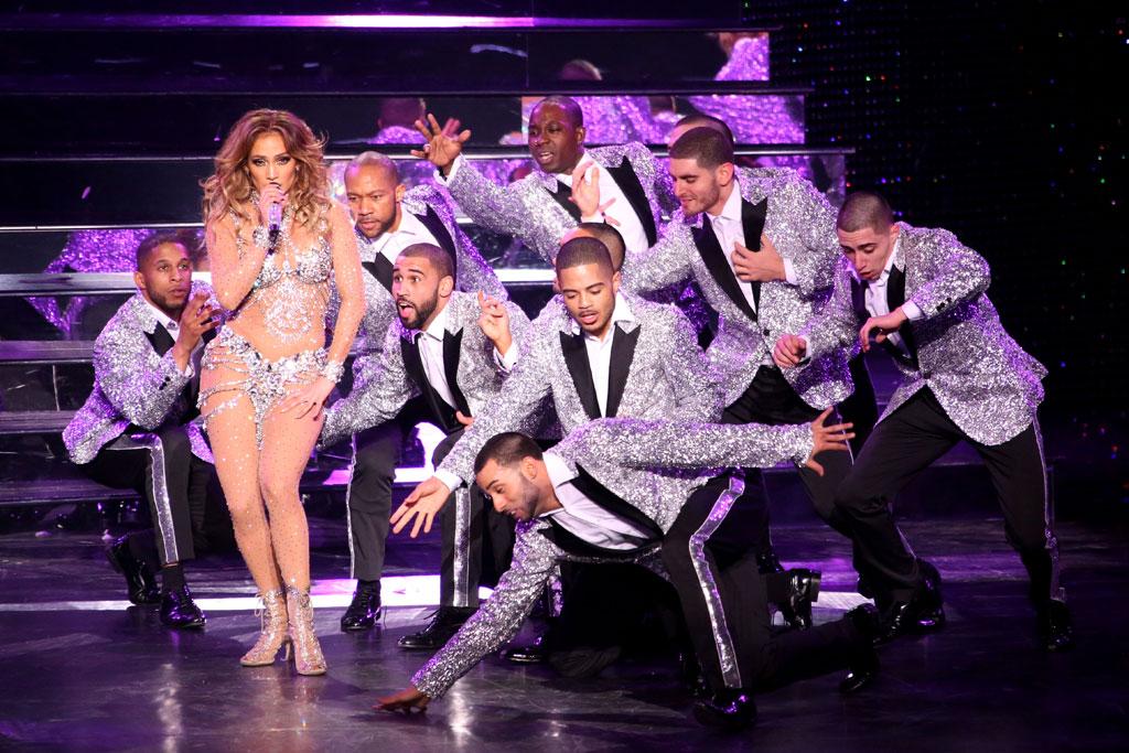 Jennifer Lopez Las Vegas Residency Shoes