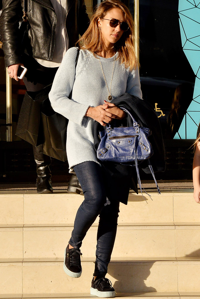 Celebrities Wearing Rihanna Puma Creepers