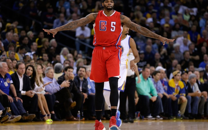 Josh Smith Los Angeles Clippers Brandback
