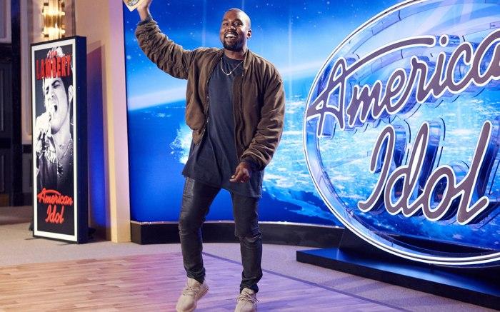 Kanye West Yeezys American Idol