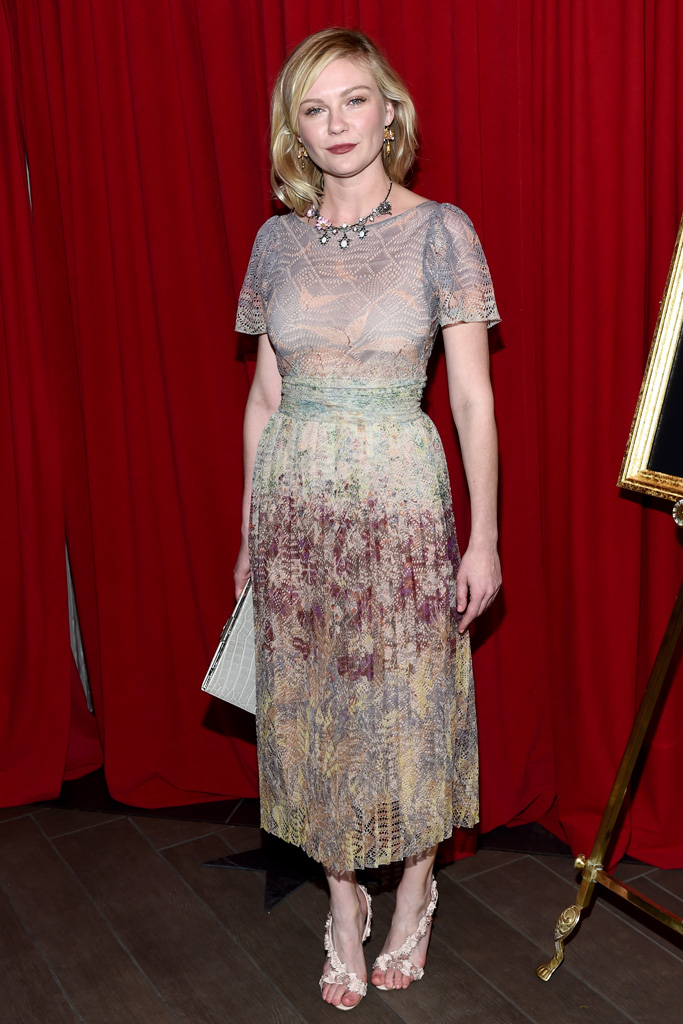 """The """"Fargo"""" actress wore another Olgana style earlier this month."""