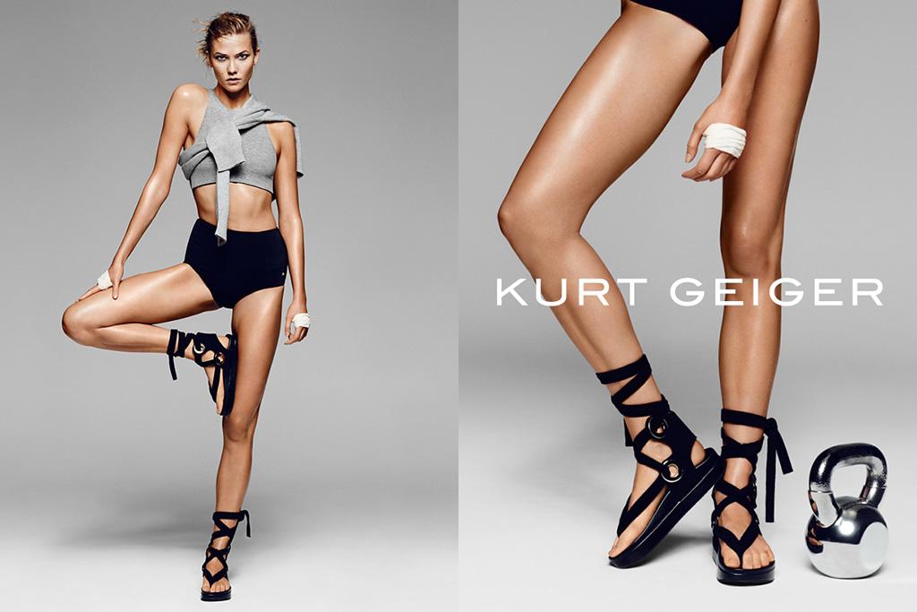 Karlie Kloss Kurt Geiger Spring 2016 Ad Campaign