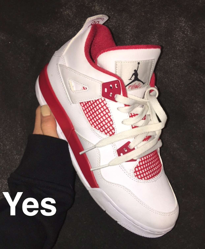Air Jordan 4 Retro Alternate 89 Kylie Jenner