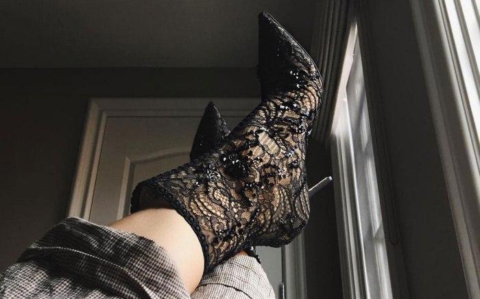 Kylie Jenner Christian Dior Boots Instagram