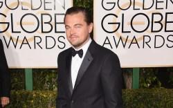 Leonardo DiCaprio Golden Globes Red Carpet