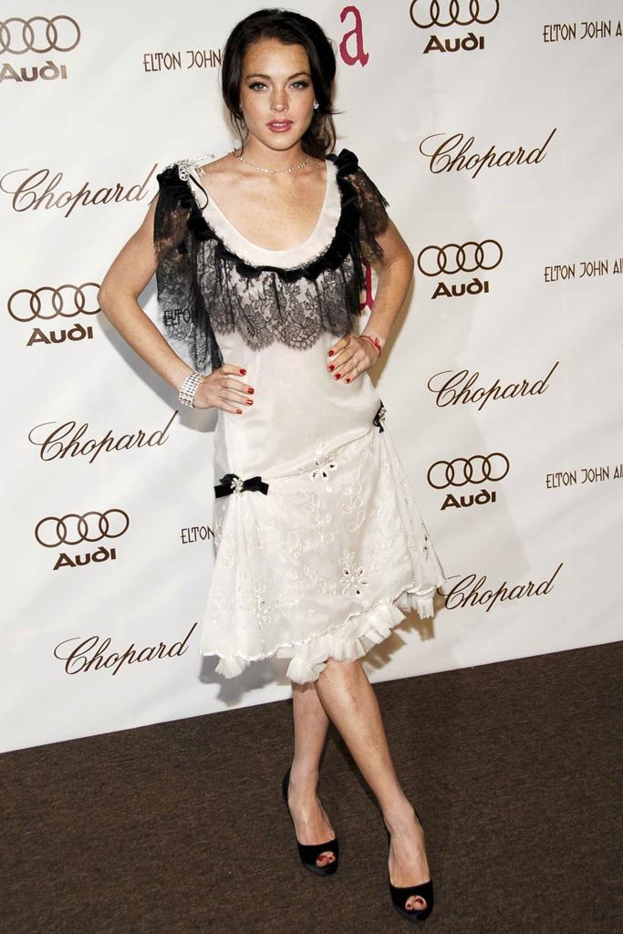 Lindsay Lohan Christian Louboutin