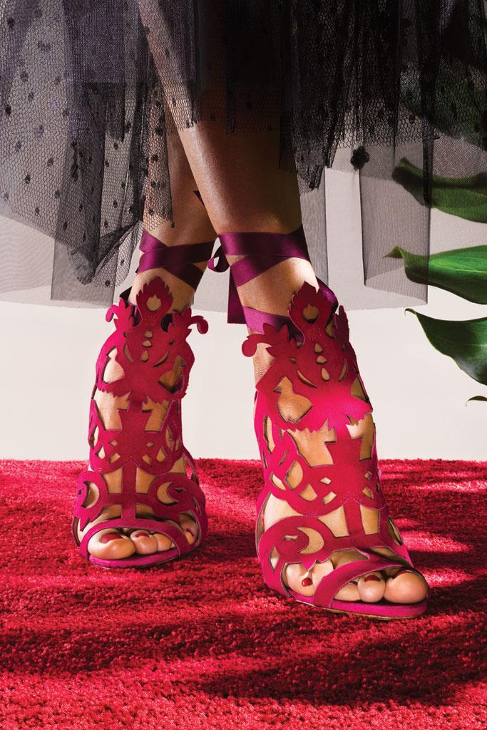 Marchesa Cut Out Sandals