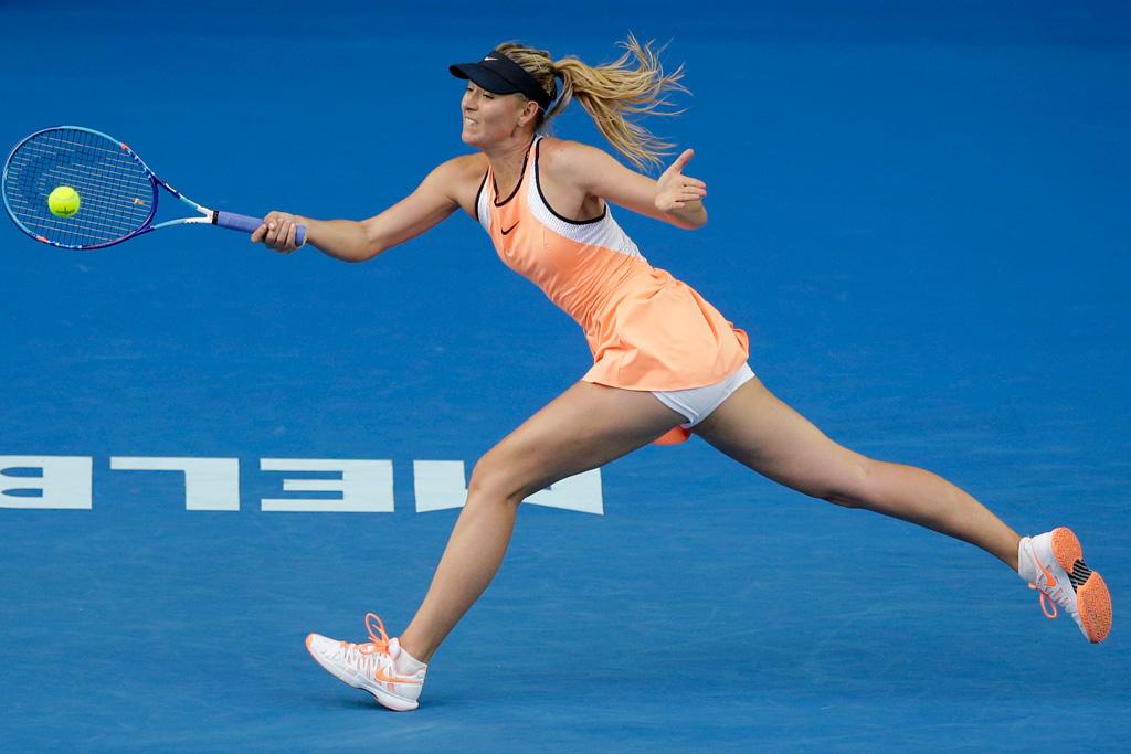 Serena Williams and Maria Sharapova To