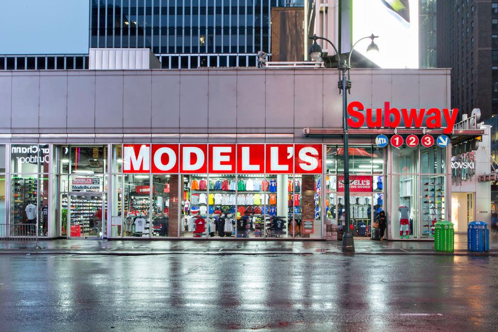 Modell's 34th Street New York store