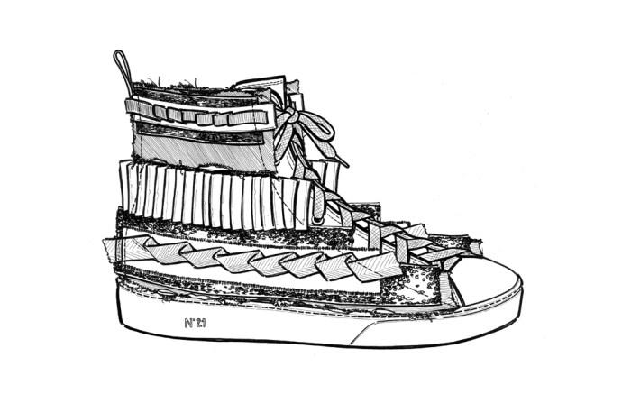 N.21 Fall 2016 Men's shoes