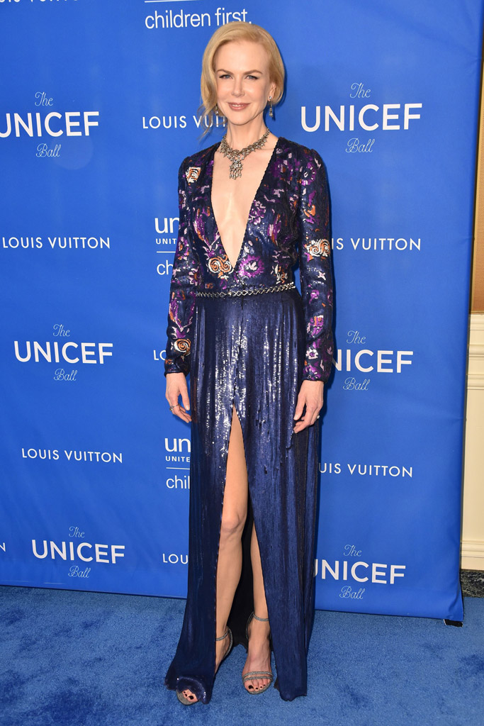 Nicole Kidman UNICEF Ball Shoes