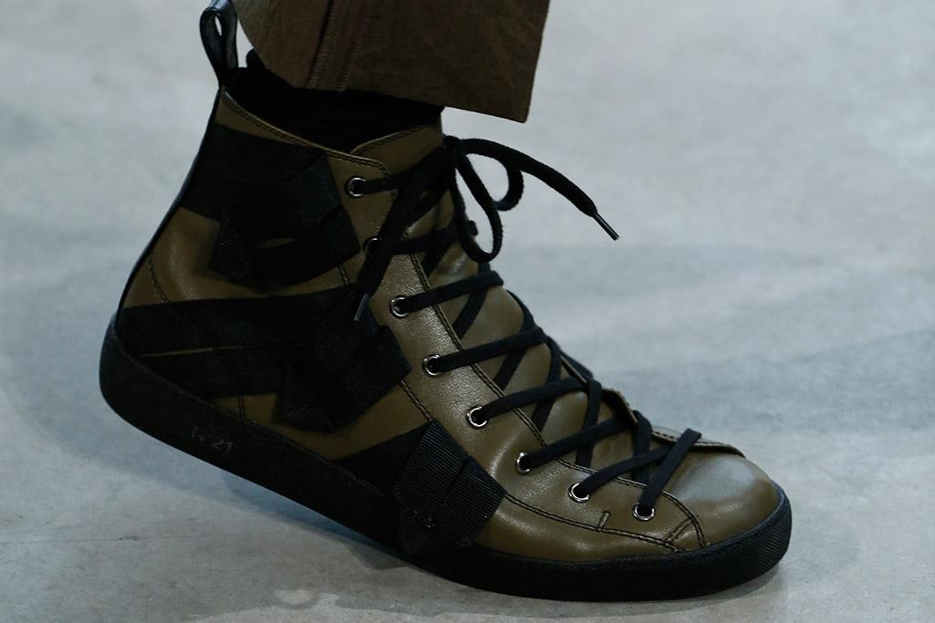 No. 21 Milan Men's Fashion Week Fall 2016 Shoes