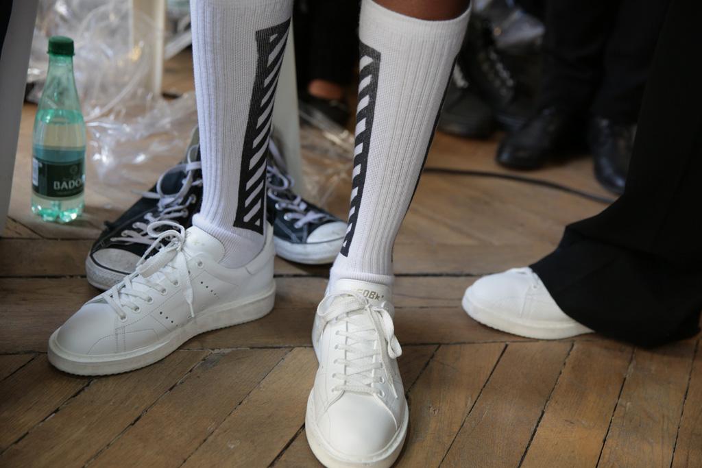 Off White Men's Fashion Week Fall 2016 Shoes