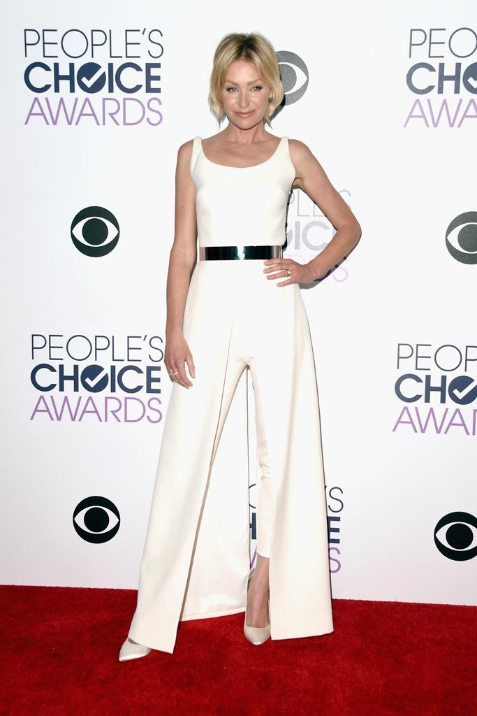 Portia de Rossi People's Choice Awards 2016 Red Carpet