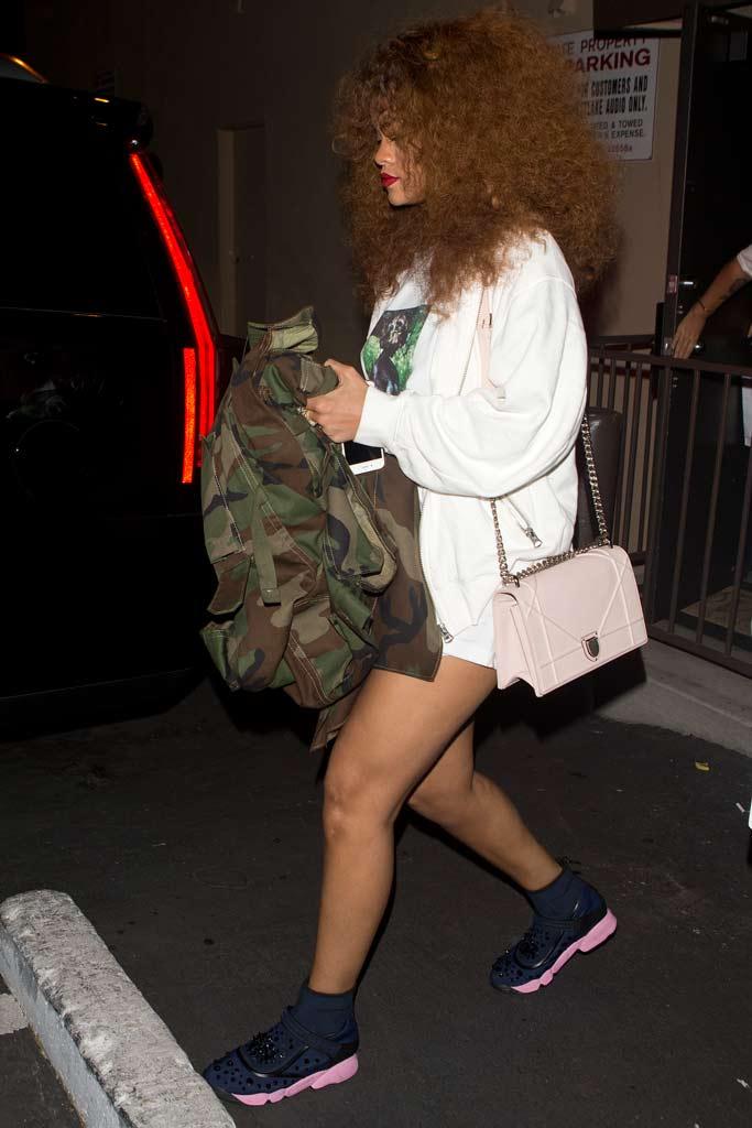 Rihanna Dior Sneakers