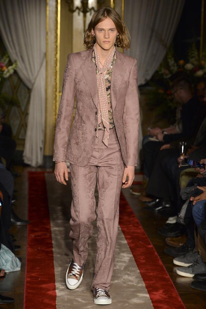 Roberto Cavalli Milan Men's Fashion Week RTW Fall 2016