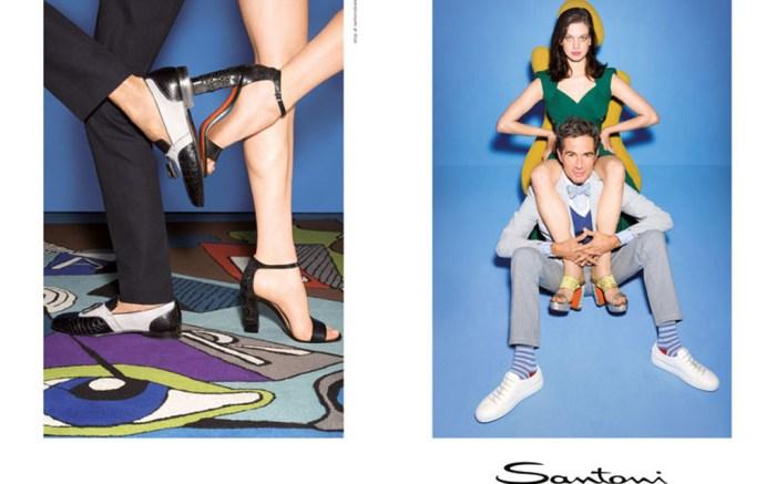Santoni Spring '16 Ad Campaign