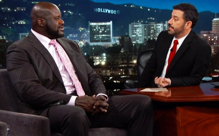 Shaq on Jimmy Kimmel