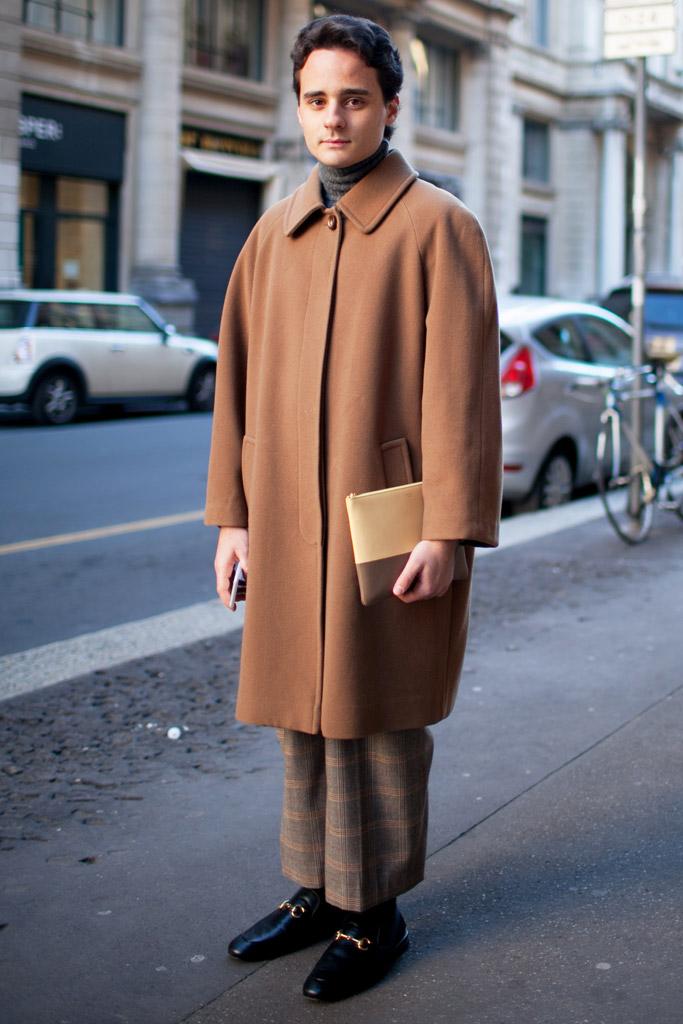 Gucci Fur Loafers Milan Men's Fashion Week