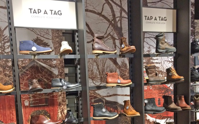 Timberland CloudTags Herald Square Store NYC