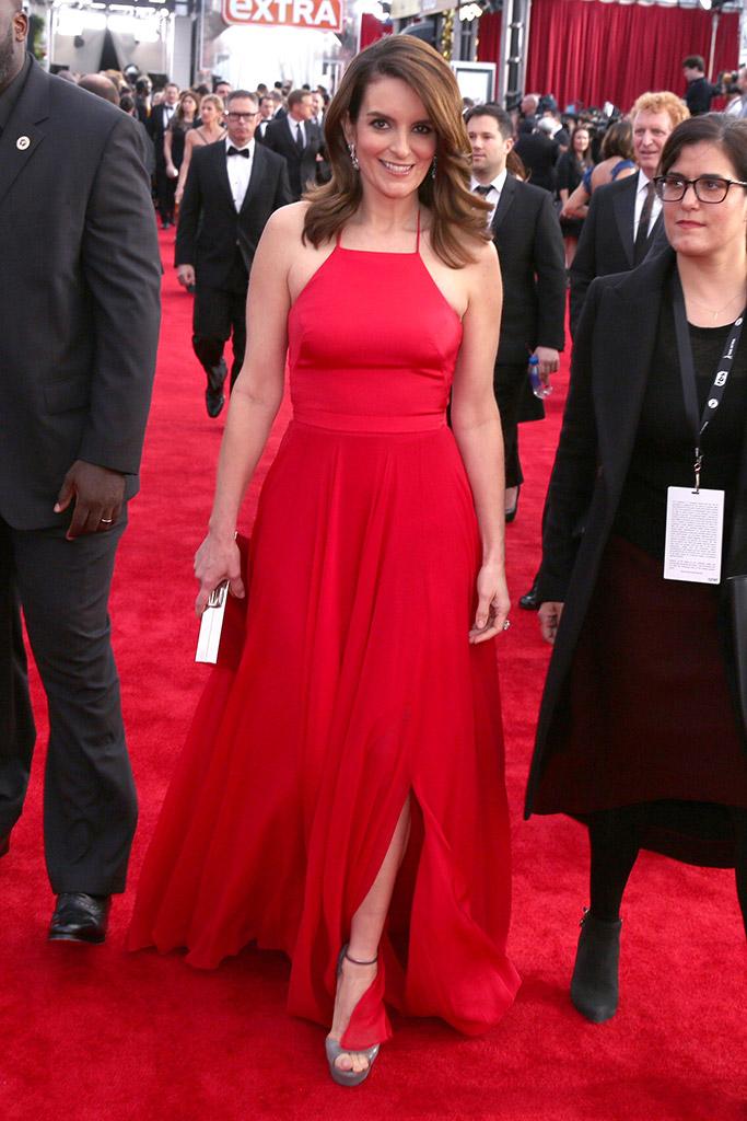 Tina Fey SAG Awards 2016 Red Carpet