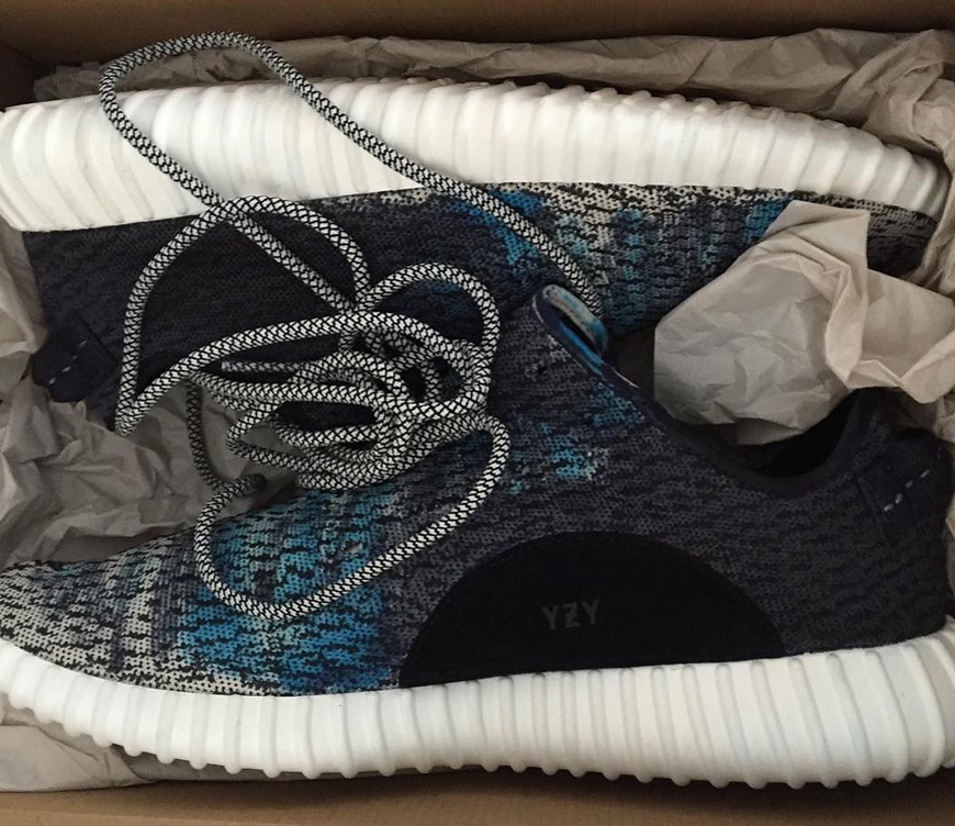 Custom dyed Yeezy Boost 350s by The Shoe Surgeon