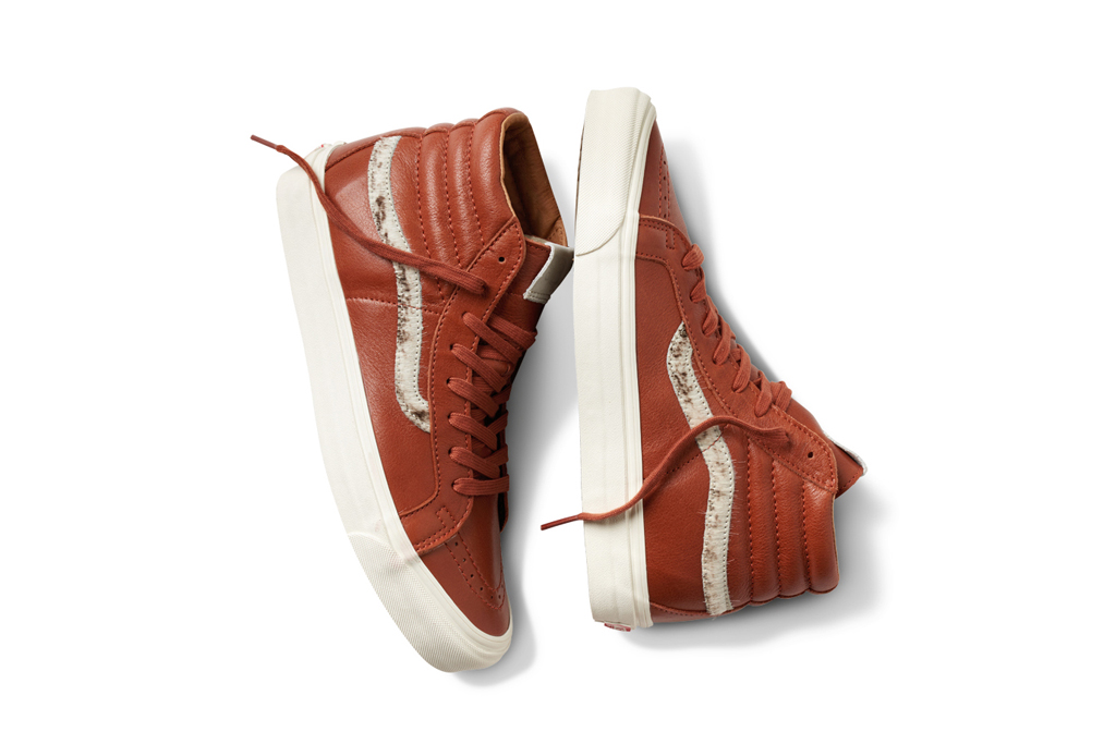 Vault by Vans Spring 2016 Leather Pony Hair Shoes