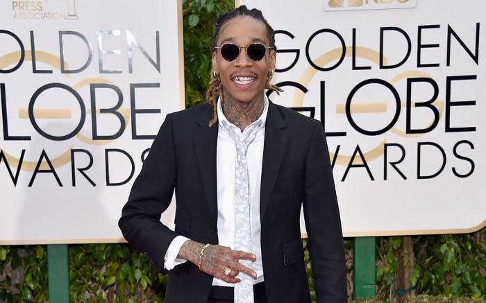 Wiz Khalifa Golden Globes Red Carpet 2016