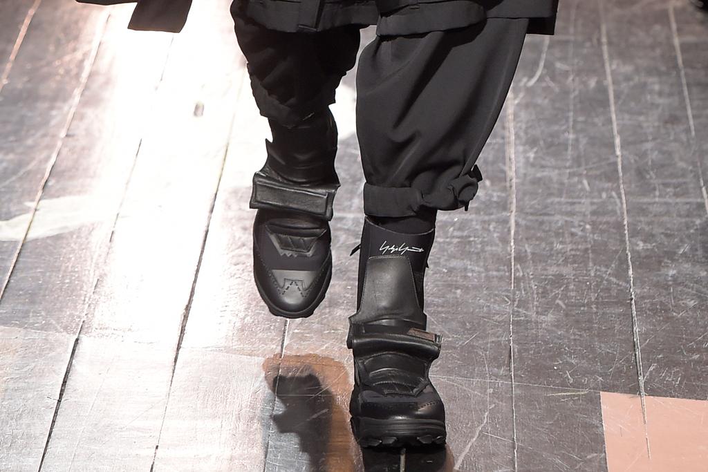 Yohji Yamamoto Men's Fashion Week Fall 2016 Shoes