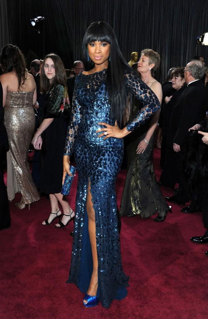 2013: Jennifer Hudson in Roberto Cavalli gown.