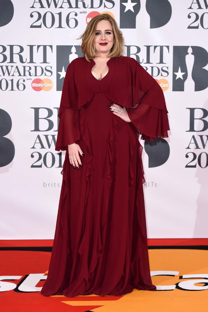 Adele 2016 Brit Awards