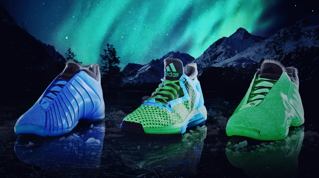 Adidas Aurora Borealis Triple White Collection