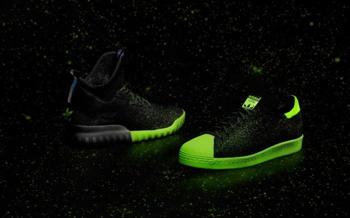 Adidas Glow In The Dark Superstar Tubular X