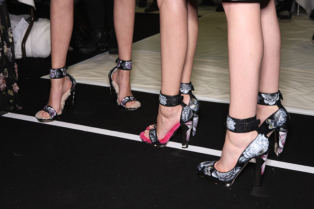 Alexander McQueen Fall 2016 Shoes On The Runway