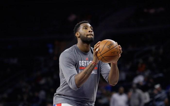 Andre Drummond Air Jordan 14 NBA Detroit Pistons